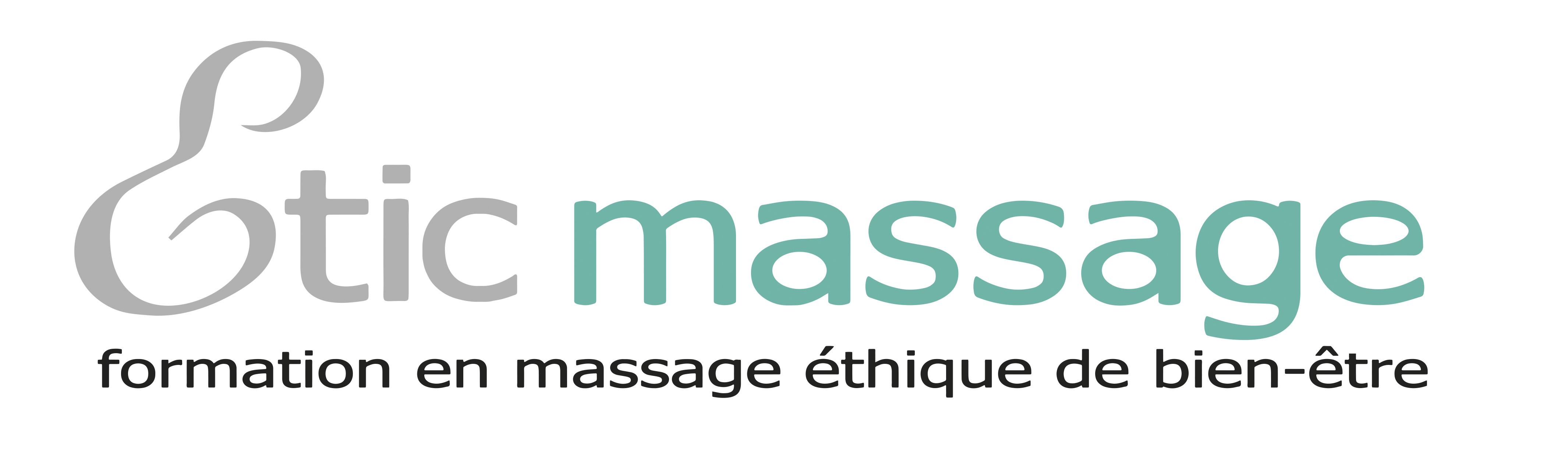 Etic massage no albero logo